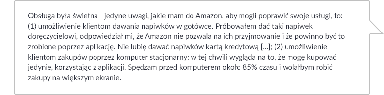 Co o Prime Now mówią klienci Amazon?