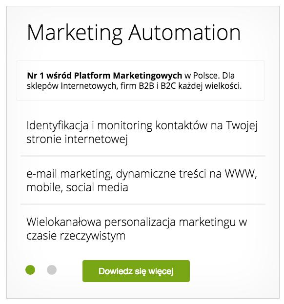SalesManago, czyli darmowe narzędzie do marketing automation