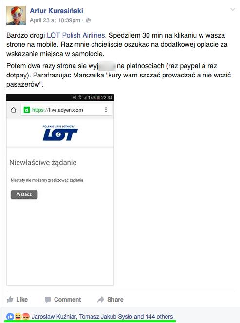 Dyskusja o aplikacji mobilnej LOT.