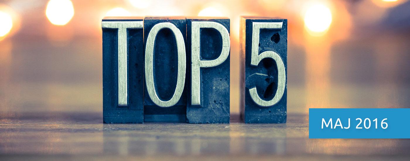 E-commerce Express, czyli top 5 faktów miesiąca. Maj 2016