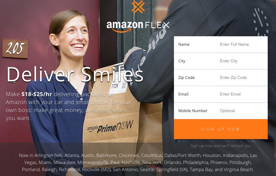 Jak działa Amazon Flex?