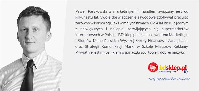Paweł Paszkowski BDsklep.pl