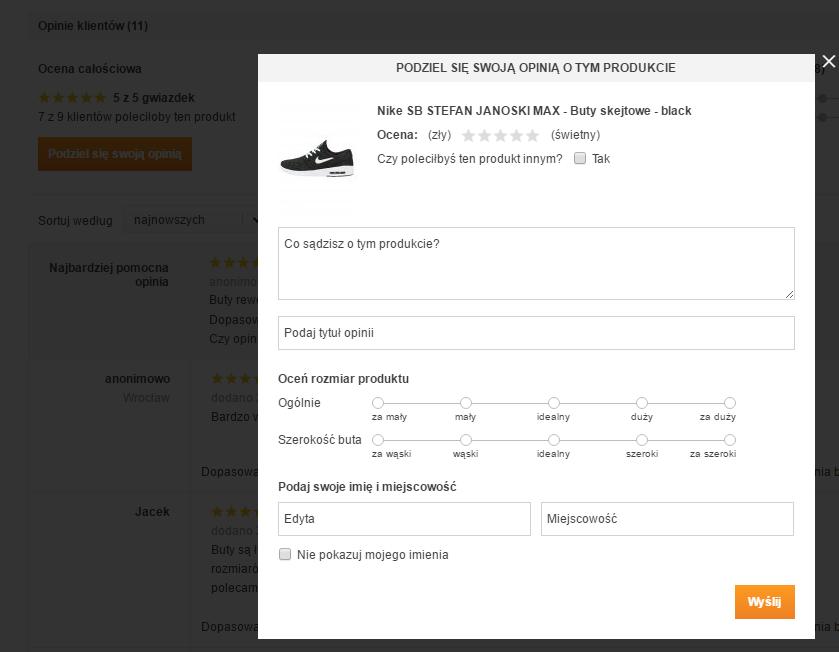 Jak wystawiać opinie w e-sklepie?