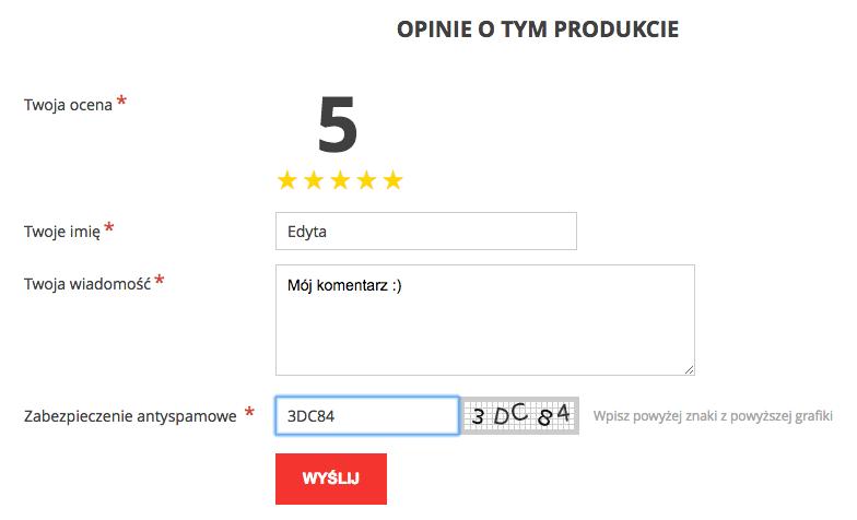 Jak wygląda dobry formularz do składania opinii w e-sklepie?