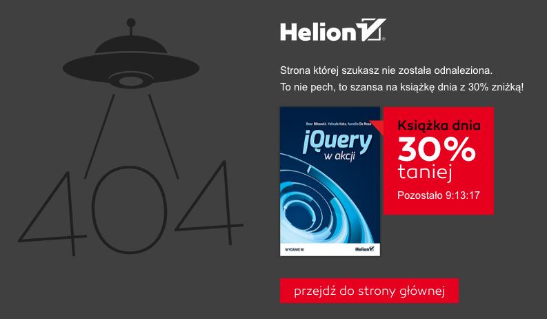 Kreatywna strona 404 - Helion