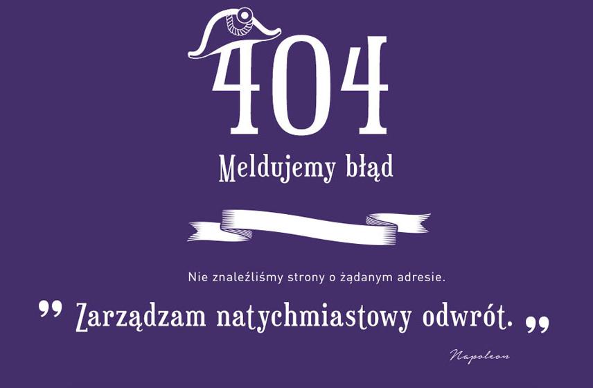 Kreatywna strona błędu 404 - Carrefour