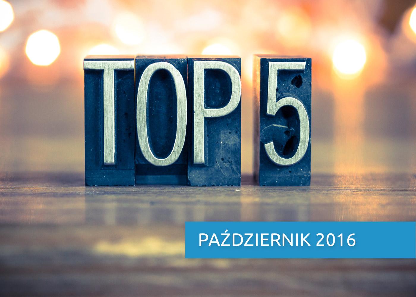 E-commerce Express, czyli top 5 faktów miesiąca. Październik 2016