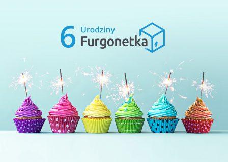 Furgonetka.pl ma już 6 lat i ponad 4 mln nadanych przesyłek
