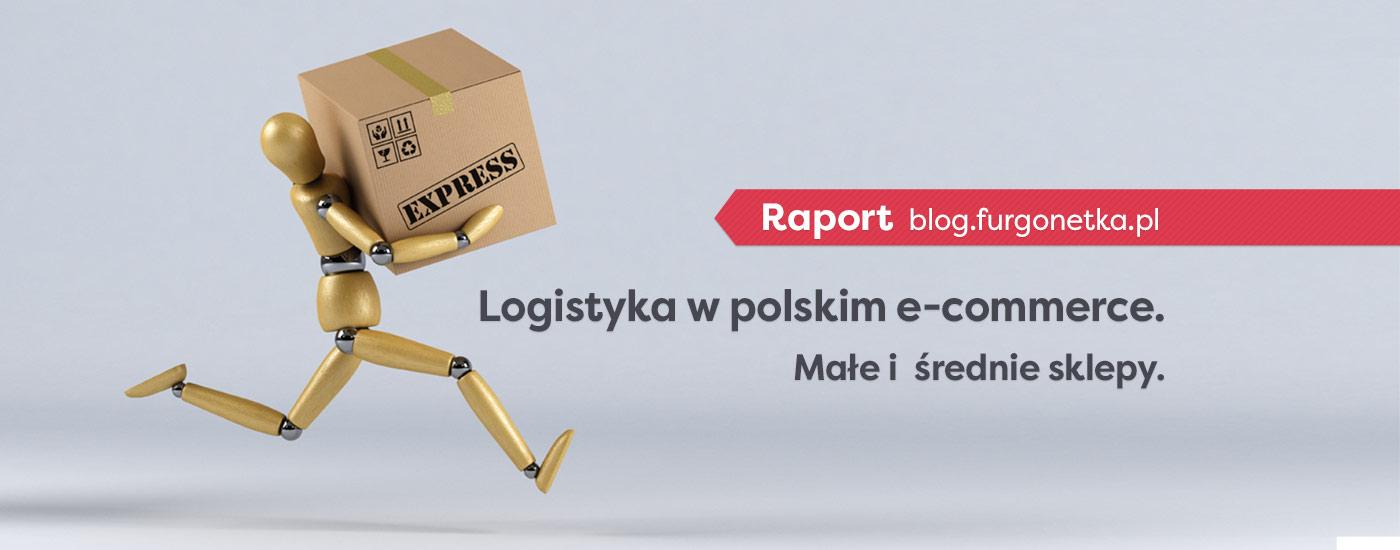 Raport: dostawa w małych i średnich sklepach online w Polsce