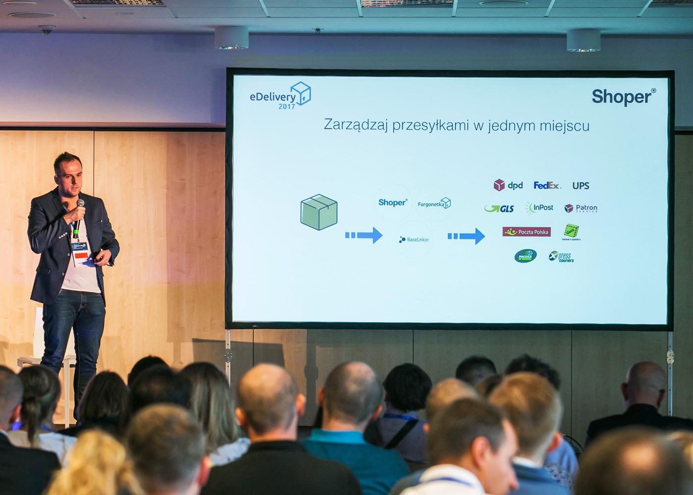 Konferencja eDelivery 2017, Artur Halik Shoper