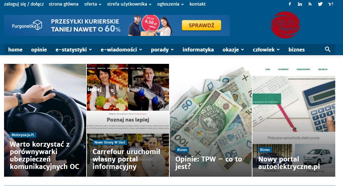 Jak wykorzystać banner reklamujący usługi Furgonetka.pl na stronie internetowej?