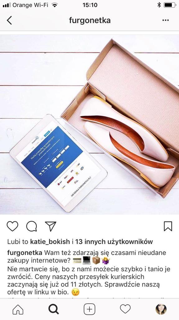 Zwróć nieudane zakupy do sklepu internetowego w Furgonetka.pl