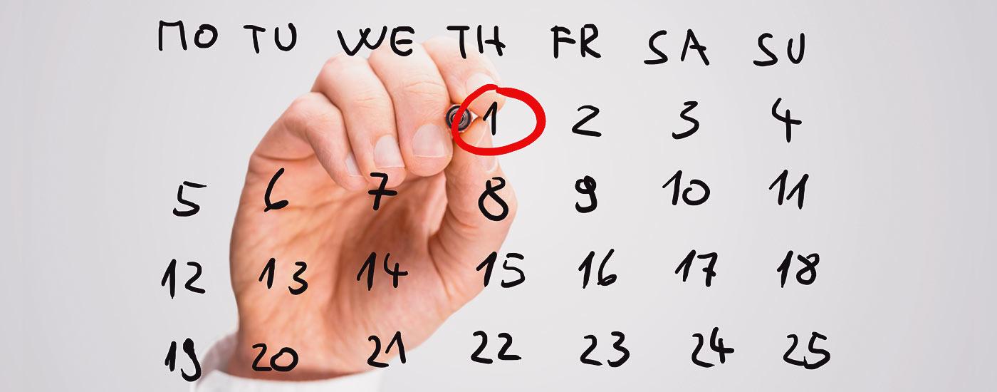 Co możesz zrobić, gdy nie pasuje Ci data dostawy?