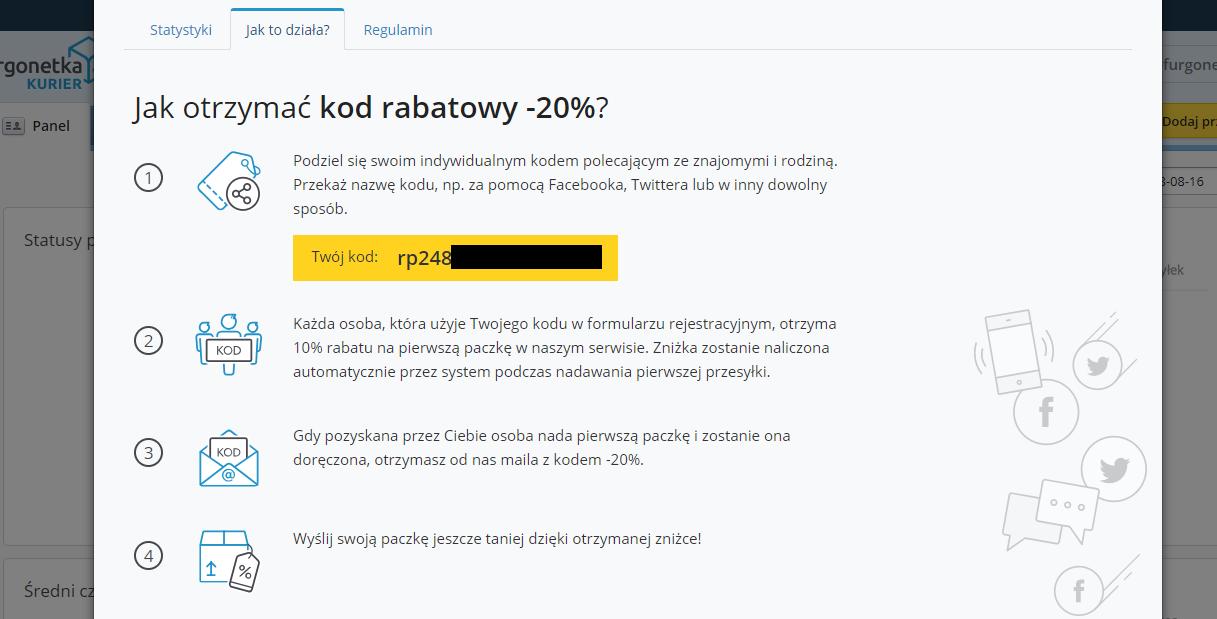 Jak wziąć udział w Programie Poleceń na Furgonetka.pl?