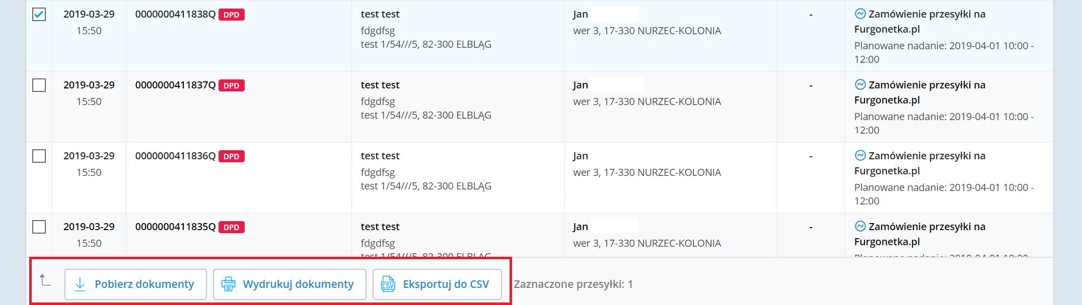 Nowe funkcjonalności w serwisie Furgonetka.pl