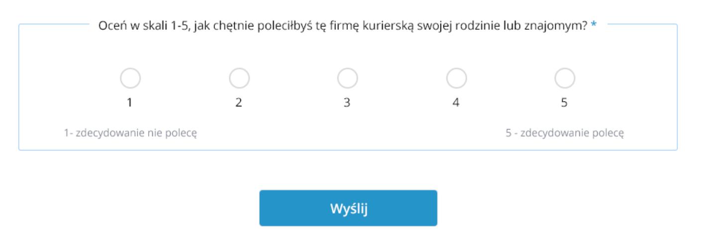 Badanie NPS zrealizowane przez Furgonetka.pl