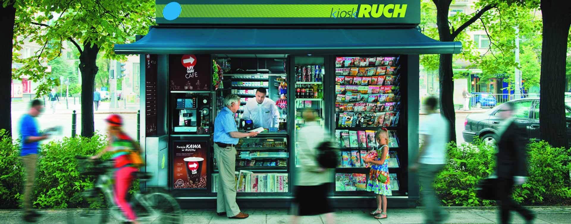 Paczka w RUCHu wdrożyła proces odkażania wszystkich obsługiwanych przesyłek