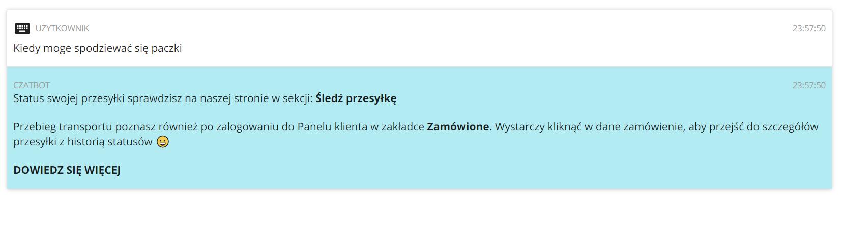 Jak czatbot pomoże sprawdzić status paczki na Furgonetka.pl?