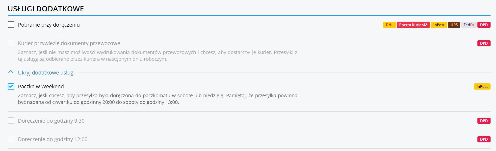 Jak działa Paczka w Weekend od InPost Paczkomaty?