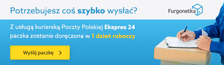 Nowa usługa Poczta Ekspres 24 dostępna na Furgonetka.pl
