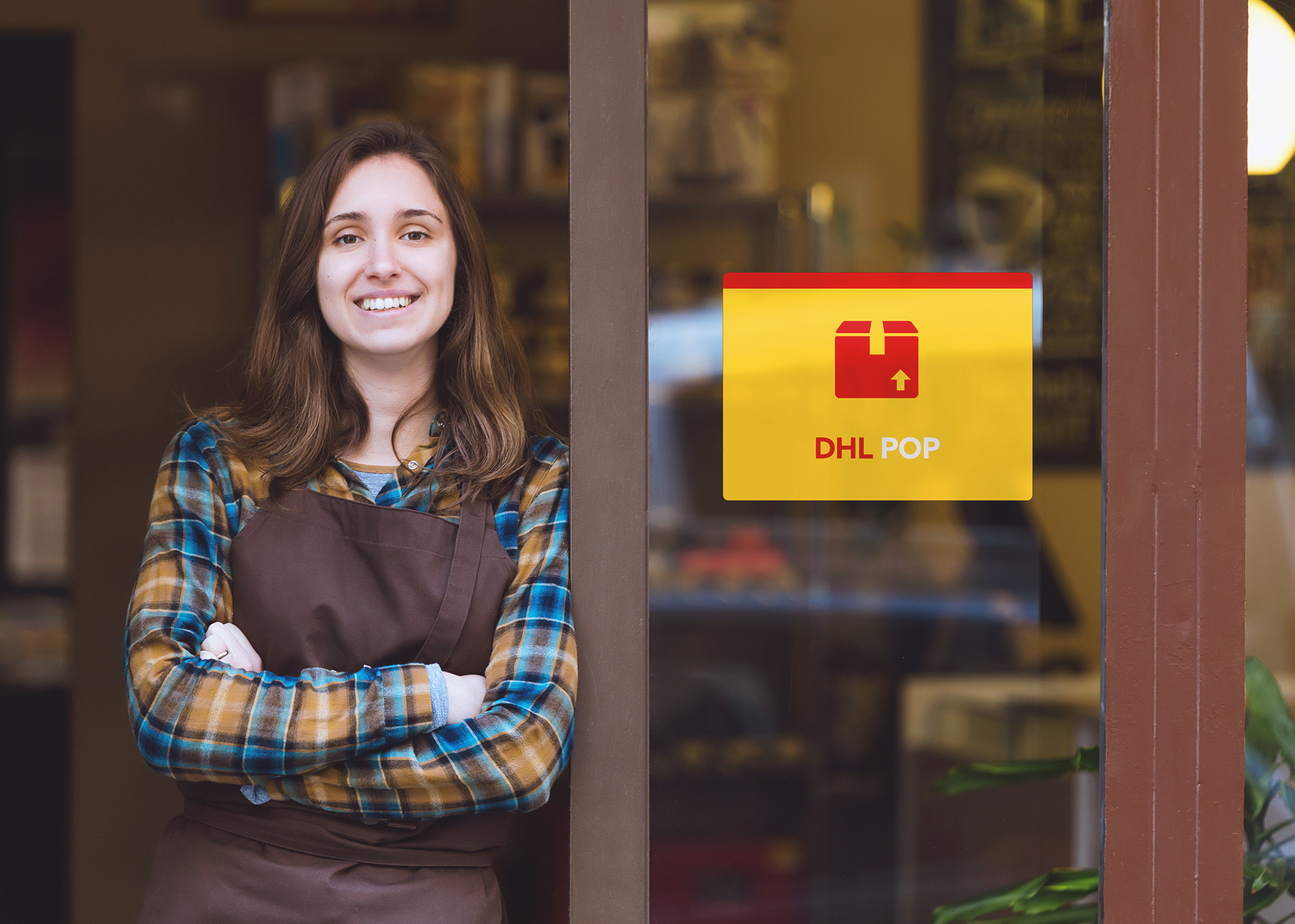 Jak nadać i odebrać paczkę w punkcie DHL POP